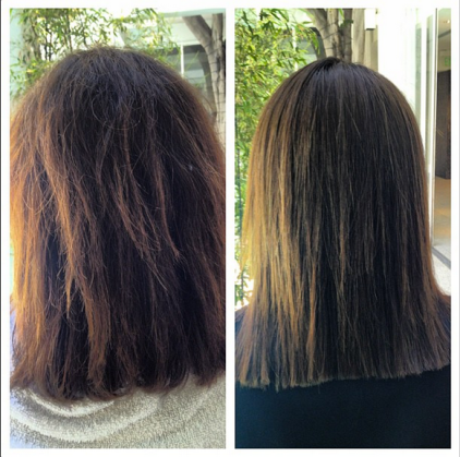 Keratin Treatment || Before + After
